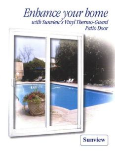 Sunview Patio Doors Ltd Is One Of Noth Americau0027s Leading Patio Door  Manufacturers. We Are Committed To Providing Our Clients And Consumers Patio  Doors They ...